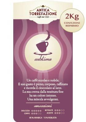 Caffè in grani Sublime 2 Kg