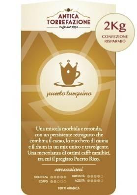 Caffè in grani Puerto Turquino 2 Kg