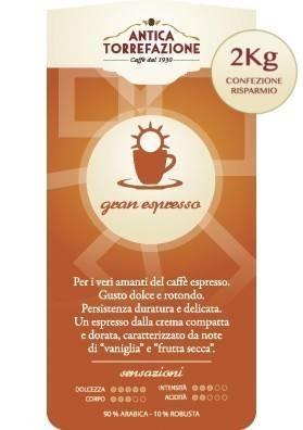 Caffè in grani Gran Espresso 2 Kg