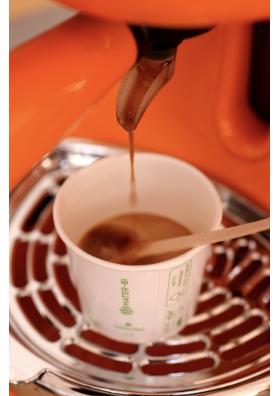 bicchiere caffè ecologico