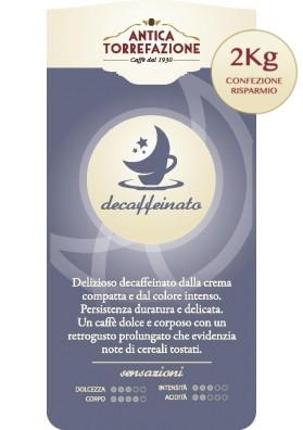 Caffè Decaffeinato grani 2 Kg