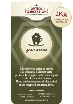 Caffè in Grani Gran Aroma 2 Kg